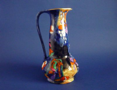 Superb Hancock's Corona Ware 'Cremorne' Jug by Molly Hancock c1930 #2 (Sold)